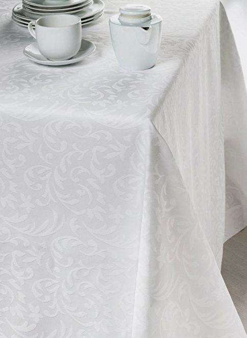 İssimo Home Masa Örtüsü Beyaz